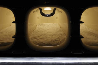 Il 9Hours capsule hotel di Kyoto