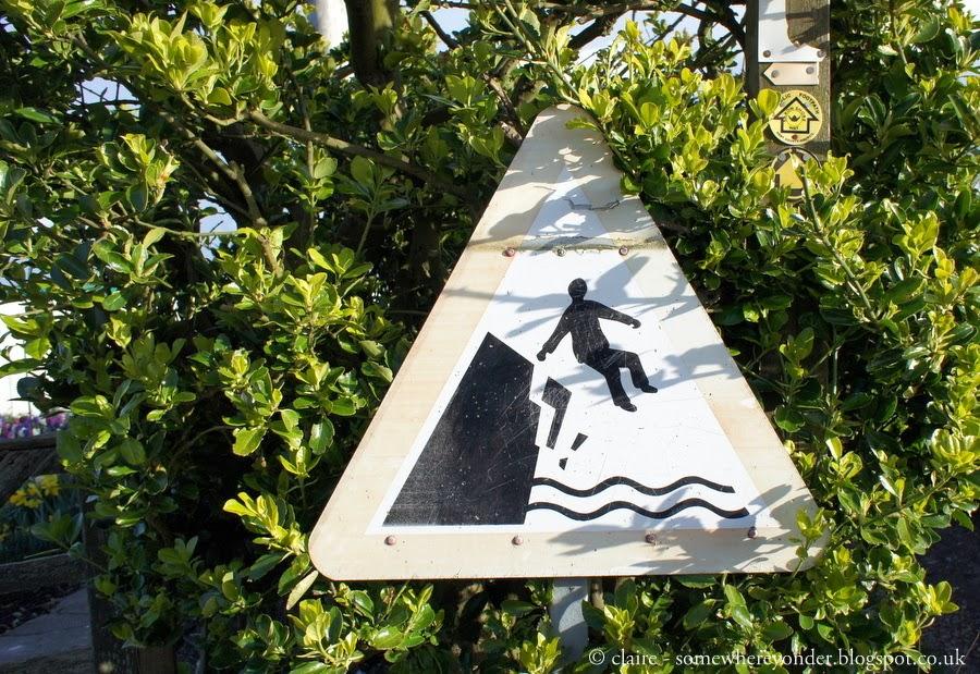 No jumping sign - Kent, UK