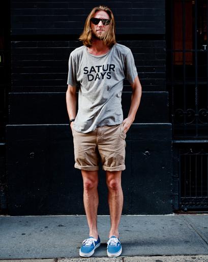 แฟชั่นกางเกงขาสั้นผู้ชาย
