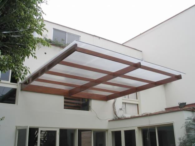 Aglo wall for Techos de policarbonato para balcones