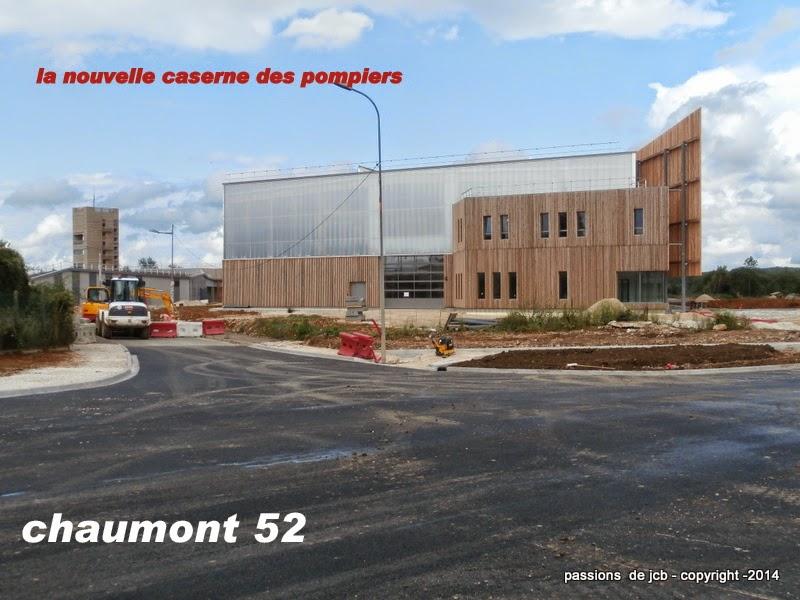 La nouvelle caserne des pompiers de chaumont for Piscine chaumont 52