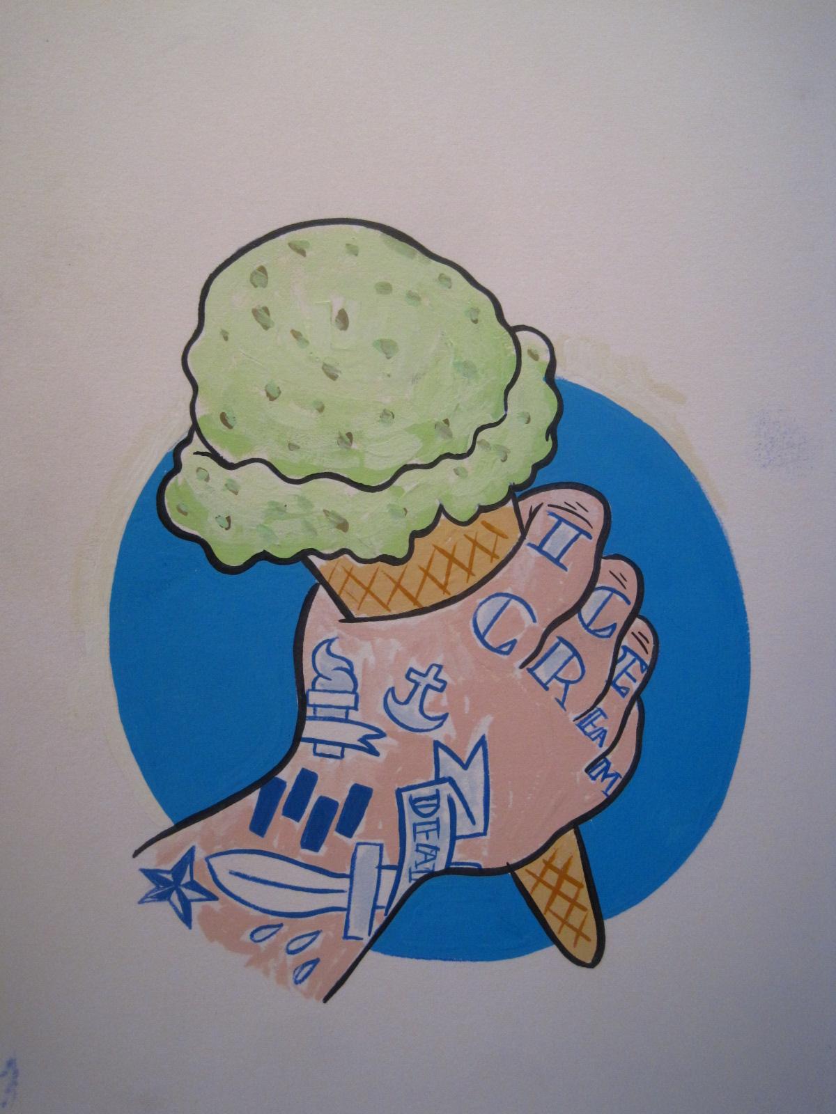 Punk rock ice cream! For Seattle Stranger. $39.