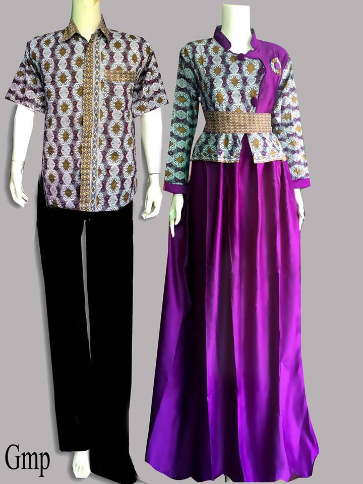Model Baju Batik Couple Modern Untuk Remaja Terbaru