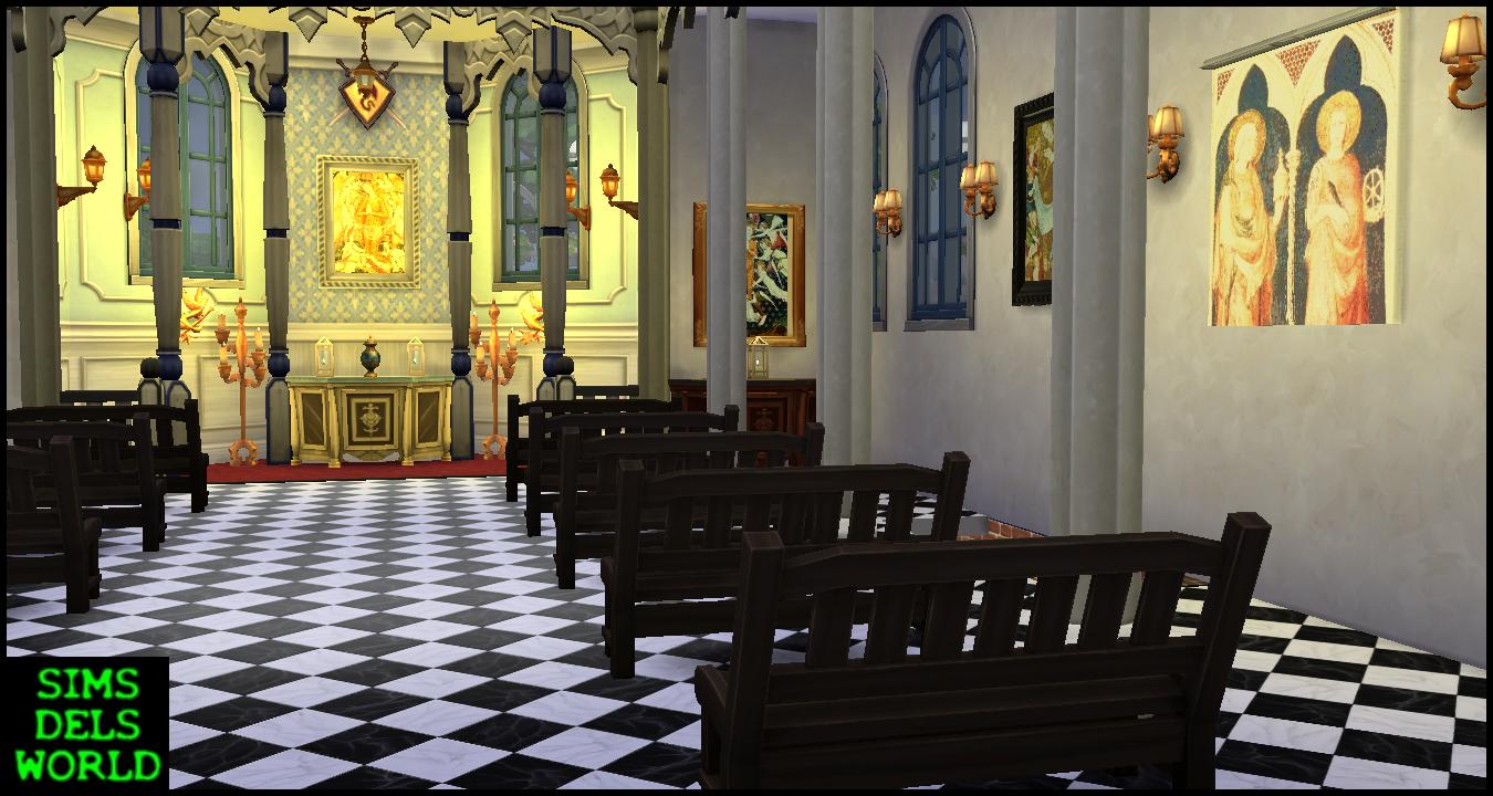 Simsdelsworld The Sims 4 St Mary Magdalene Church