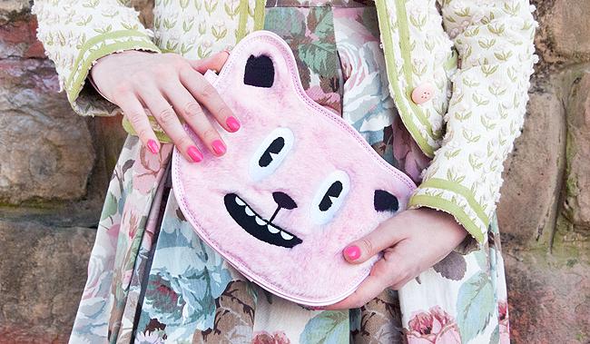 Little Sunny Bite, bear Clutch, kawaii bag