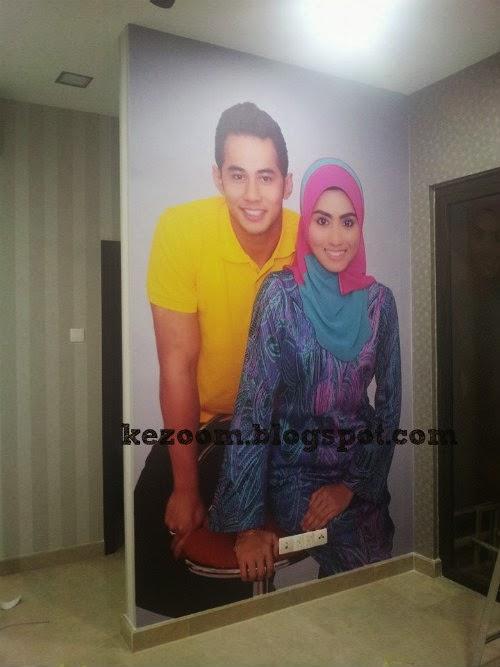 Image Gambar Cantik Hiasan Dalaman Rumah Fizo Omar Mawar Download