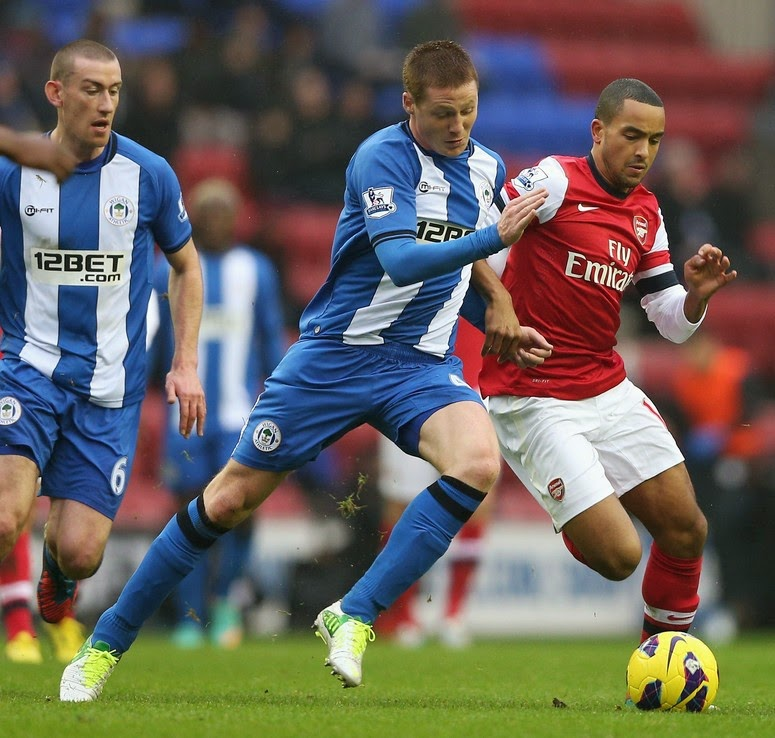 Taklukkan Wigan Athletic, Arsenal Maju ke Final