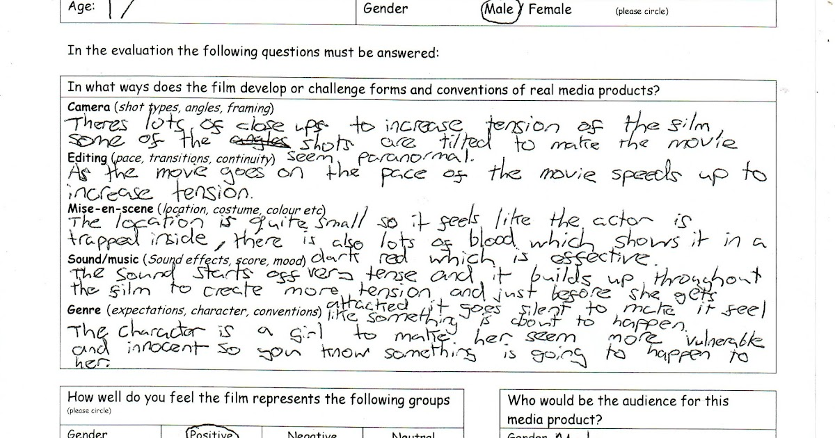 Audience Feedback Form  Sample Presentation Feedback Form