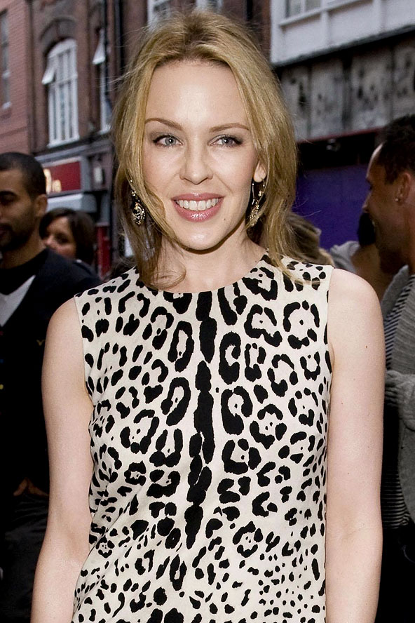 Kylie Minogue Hairstyle