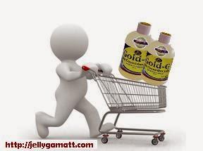 Cara Membeli Jelly Gamat Gold-G