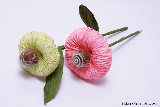 Easy To Make Paper Flowers