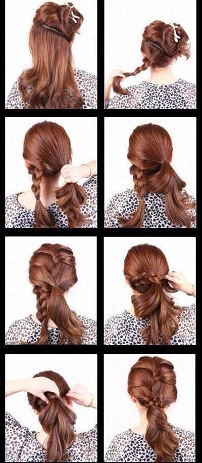 Cute Hair Style for Ladies - Interesting, Easy, Suitable Type for Street Style