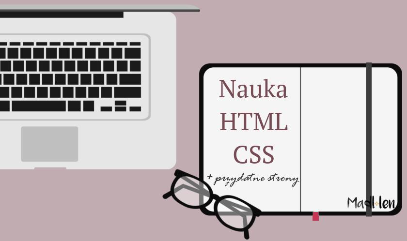 Nauka kodów HTML i CSS