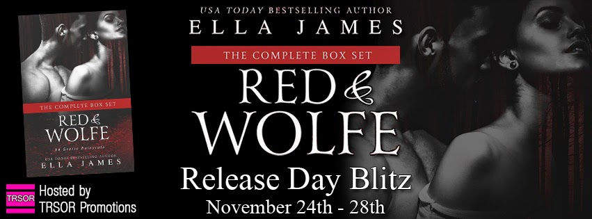 Release Day Blitz: Red & Wolfe by Ella James