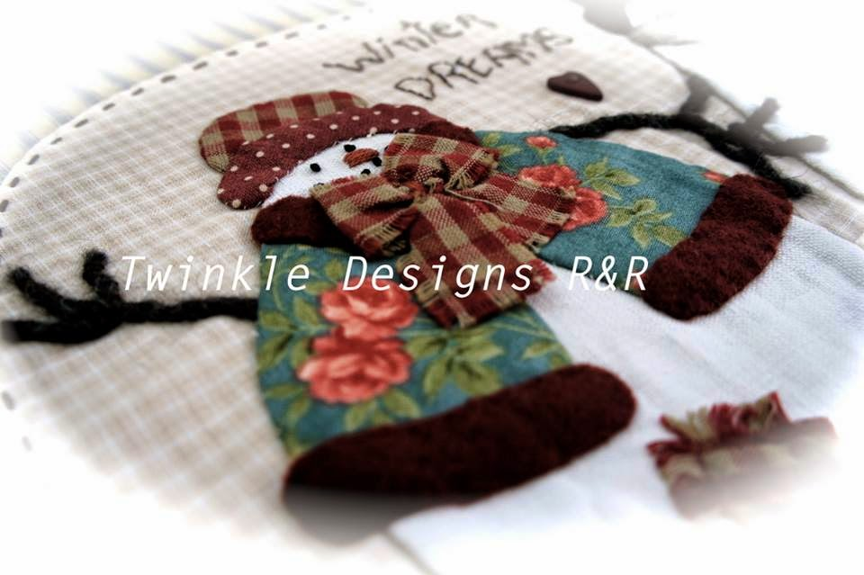 Winter Dreams - patchwork cusion