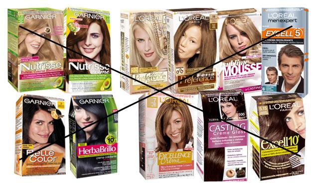 La máscara para el tratamiento sekuschihsya de las puntas de los cabello