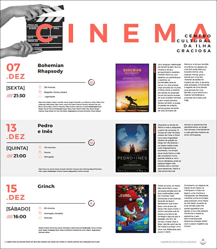 Cartaz de Cinema de Dezembro