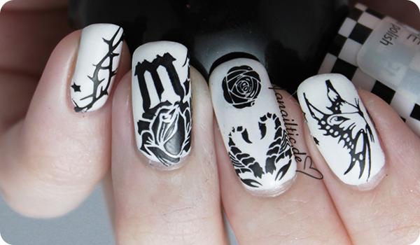 moyou london zodiac 10 monochrome stamping