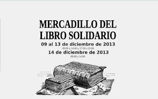 Mercadillo del Libro Solidario 2013