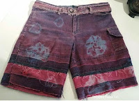 http://www.upcycleddesignlab.com/2015/05/denim-redo-upcycled-tie-dye-denim-shorts-.html