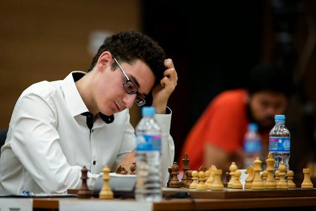 Grand Prix Khanty-Mansiysk. Fabiano Caruana