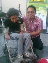 Bersama Hafiz Hamidun - Mac 2012