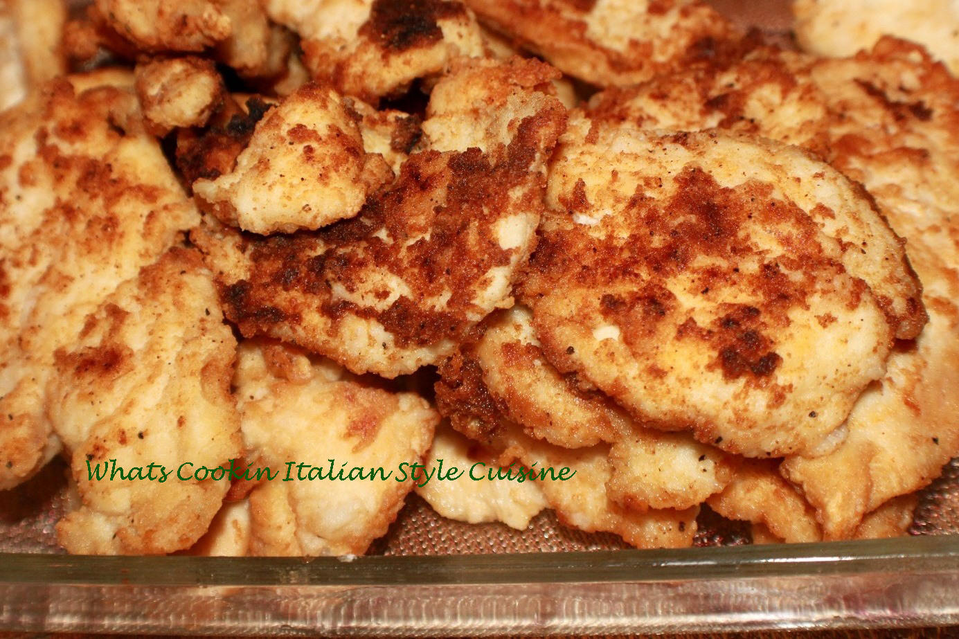 Basic Fried Chicken Recipe | What's Cookin' Italian Style ...