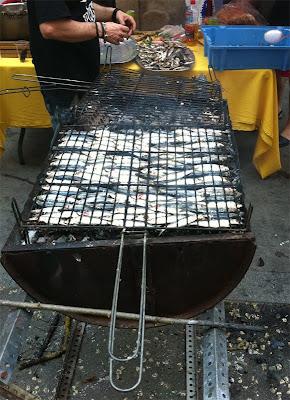 Grilled Sardines - Barcelona Sights Blog