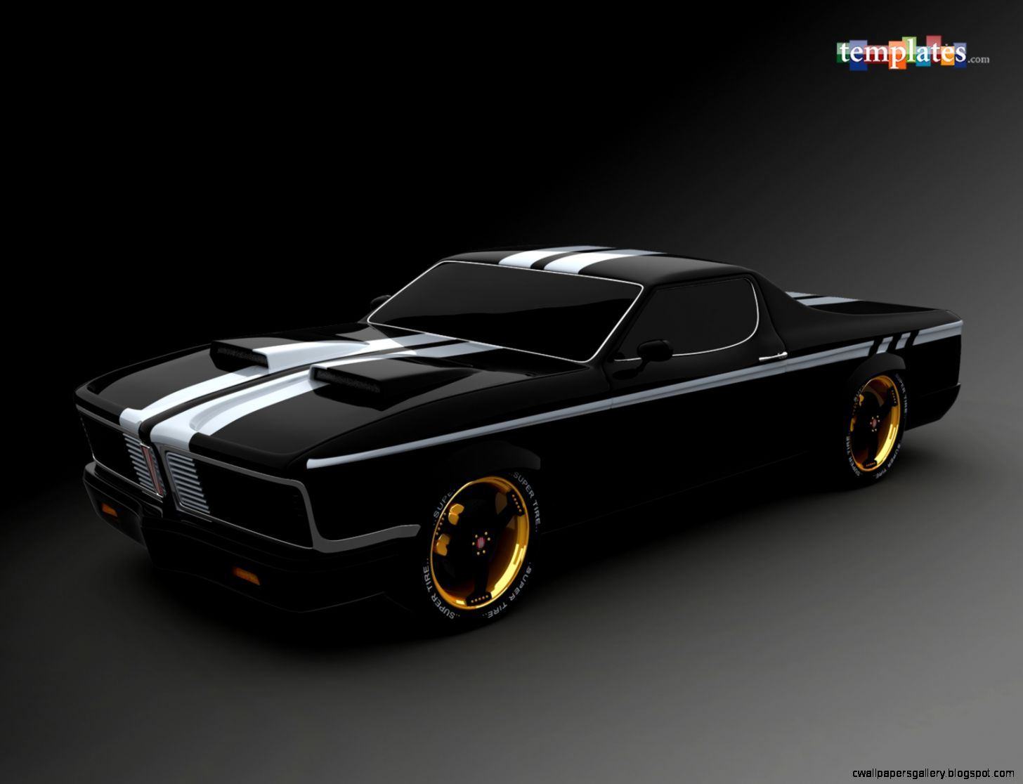 Cool Sport Muscle Car