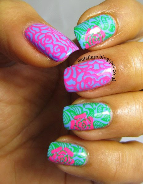 Roses & Leaves Manicure