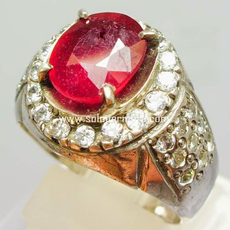 Batu Permata Ruby Corundum - SP 008