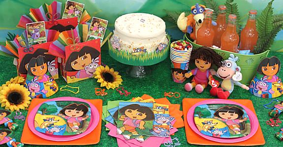 Dora la Exploradora - Decoración de Fiestas de Cumpleaños ...