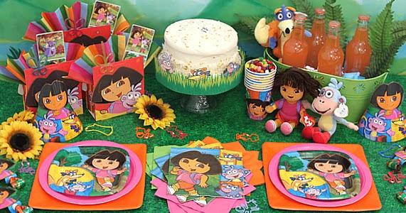 Dora la exploradora decoraci n de fiestas de cumplea os - Decoracion de fiestas de cumpleanos infantiles ...