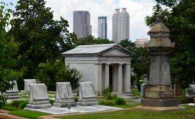 Historic Oakland Cemetery, final resting place of Margaret Mitchell