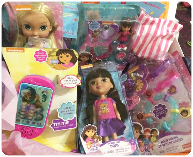 dora and friends toy range