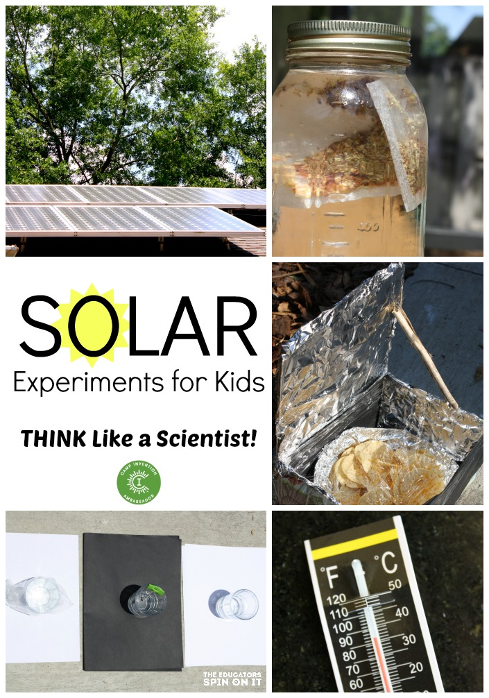 The Educators 39 Spin On It Solar Science Experiments For Kids