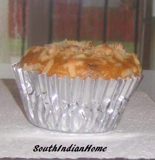 Microwave Eggless Coconut Flour Cake