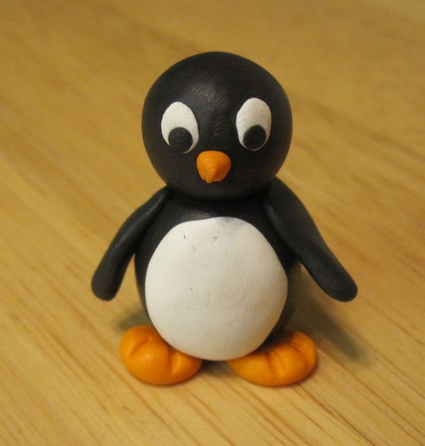 Creators Joy Polymer Clay Penguin Tutorial