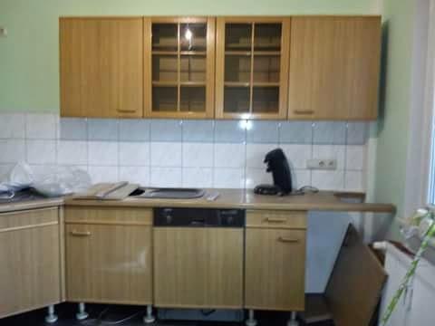 romi mccoy kombizimmer wohnzimmer k che. Black Bedroom Furniture Sets. Home Design Ideas