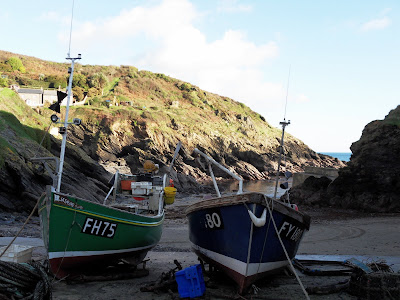 Portloe, Cornwall fishing boats