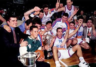 Taugres Baskonia. Copa del Rey'95.