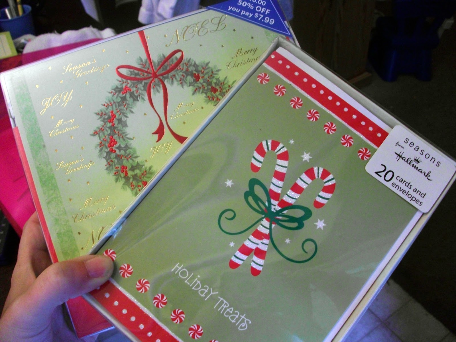 Thrifty Crafty Girl: 25 Days of Christmas - Christmas Cards, I ...