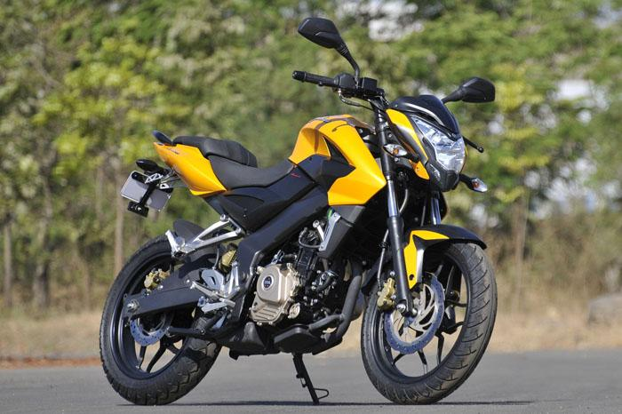 kawasaki will take care of sales and service of pulsar 200 ns in title=