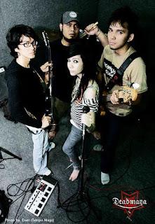 Deadmaya Band Hardcore Metal Jakarta