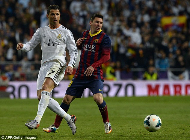 Ronaldo and Messi have been the main contenders for the world's best player accolade for many years