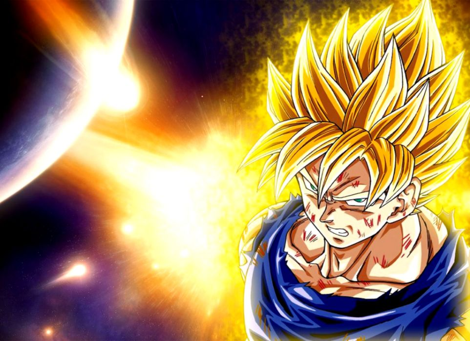 Dragon Ball Z Goku Super Saiyan Wallpaper Hd Wallpaper Background Hd
