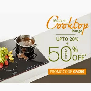 PayTM:Buy Gass Stoves at upto 67% off + 50% Cashback from Rs. 1999