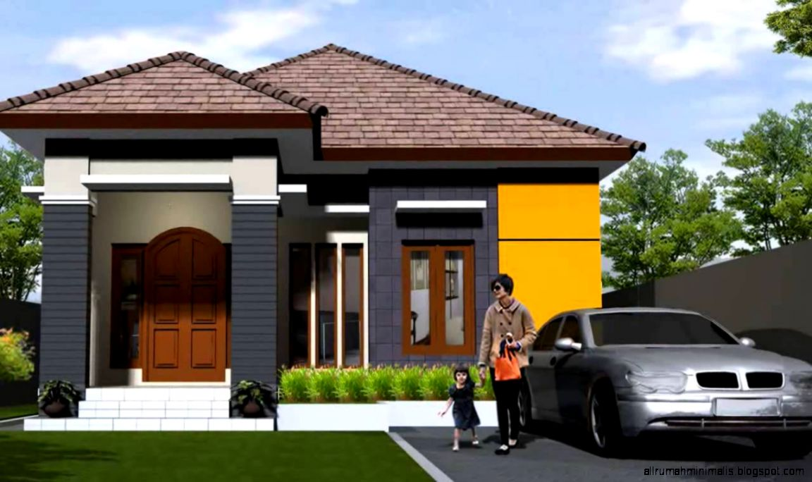 gambar rumah minimalis sederhana 1 lantai design rumah