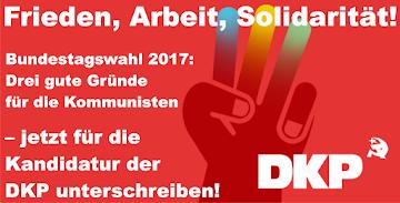 DKP zur Bundestagswahl 2017