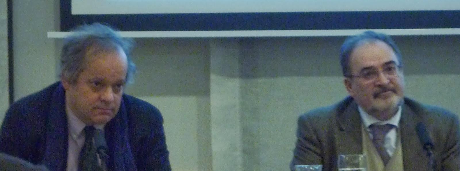Javier Santillán y Antonio María Ávila